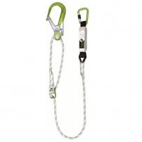 Instelbare touw met stijgerhaak en klikhaak