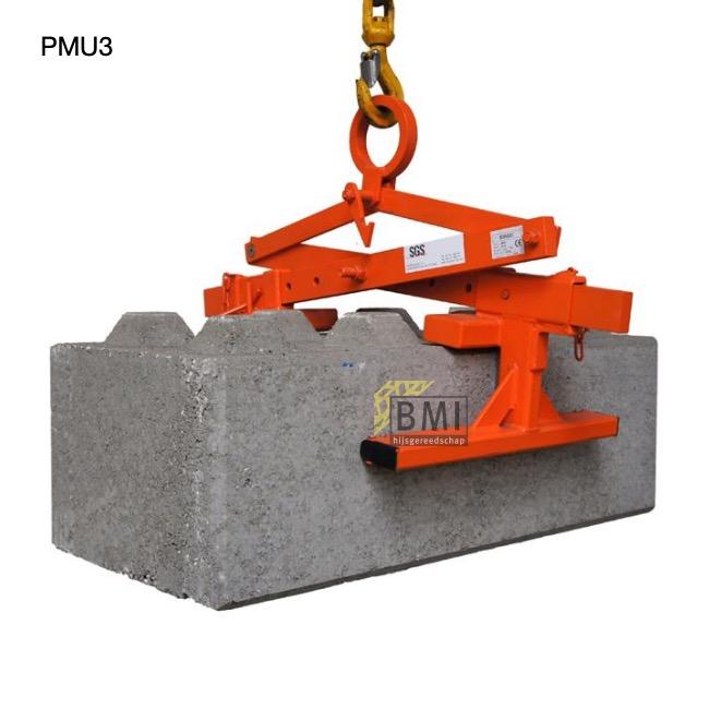 PMU3 mechanische klem