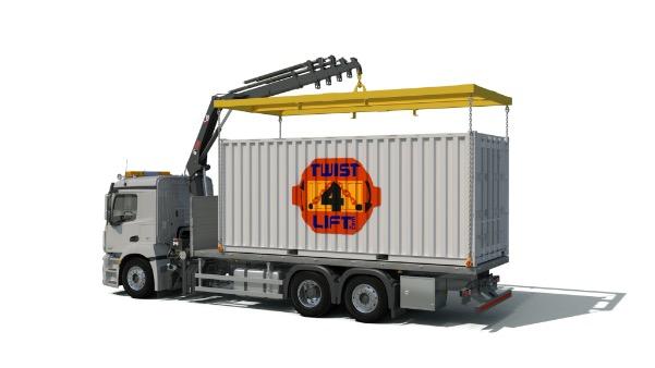 Twist4Lift containerhaak