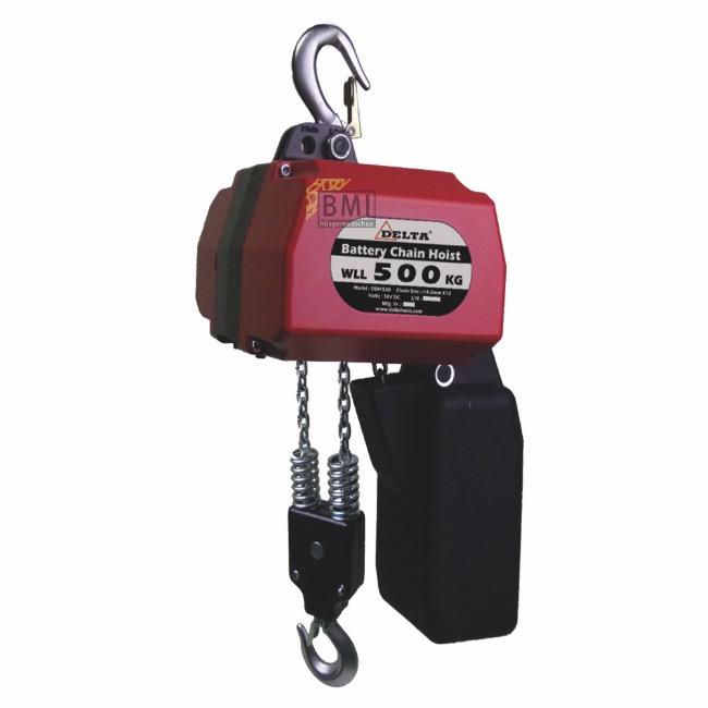 Batterij kettingtakel