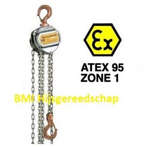ATEX zone 1 kettingtakel 1 ton